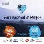 A Feira Nacional do Mirtilo vai decorrer em Sever do Vouga nos dias 26, 27, 28 e 29 de junho