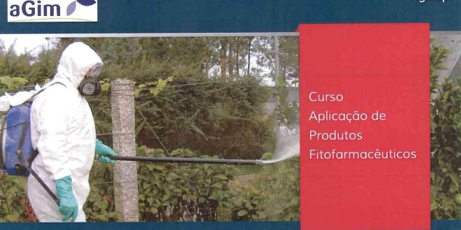 Novo curso de aplicação de produtos fitofarmacêuticos