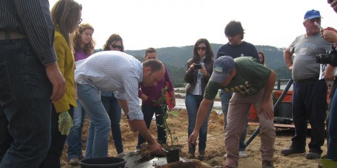 Formação prática de instalação de pomares de mirtilos