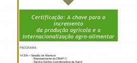 Certificação e exportação agro-alimentar em debate