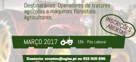 Curso de manobrador de máquinas agrícolas e florestais