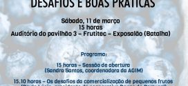 Desafios da comercialização de pequenos frutos em debate na Frutitec