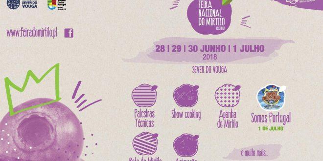Feira Nacional do Mirtilo decorre de 28 de junho a 1 de julho em Sever do Vouga
