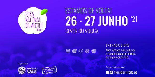 """13ª """"Feira Nacional do Mirtilo"""" realiza-se a 26 e 27 de junho num formato adaptado à pandemia"""